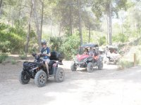 Jornada de quad por la zona de montaña de Marina Baja