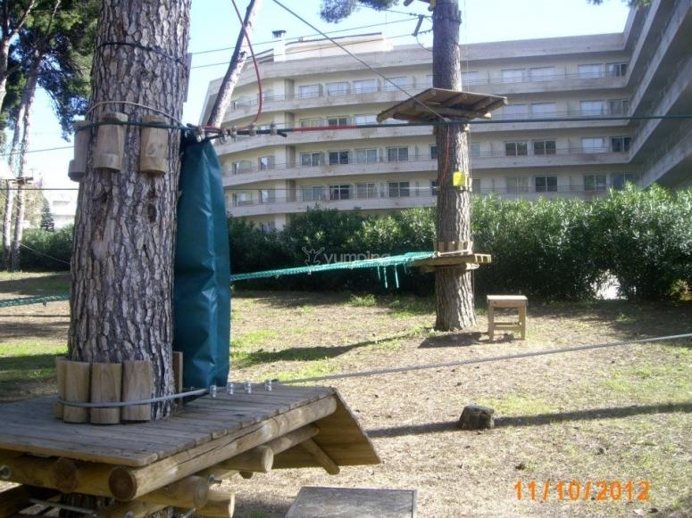 Estructuras del parque