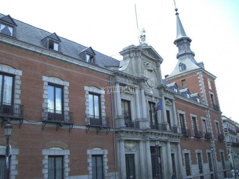 El Palacio de Santa Cruz