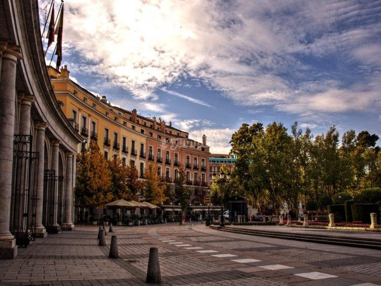 La Plaza de Oriente