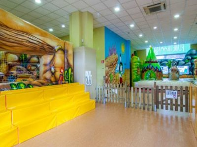 Plan for kids and parents at L'Hospitalet