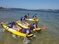 Yincana paddle