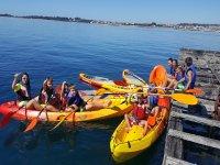 Ruta paddle y Kayak bateas