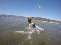 Viviendo el kitesurf