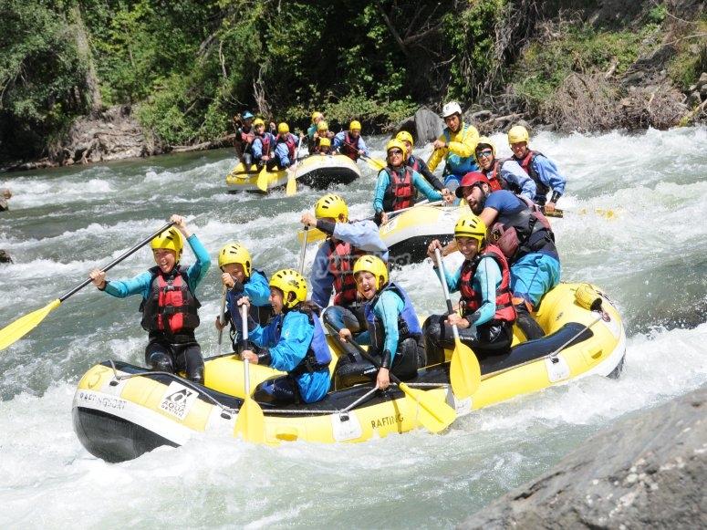 Rafting in stato puro