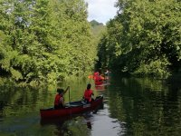 Tour guidato in canoa canadese sul fiume Urumea
