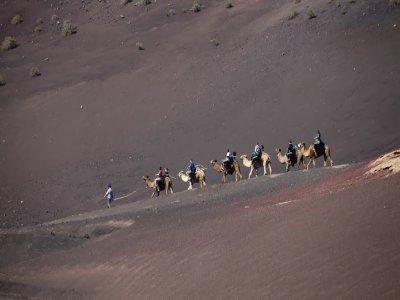 Visita guiada Timanfaya y paseo camello opcional