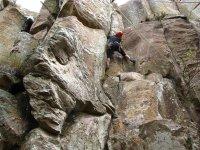 Superare l'arrampicata