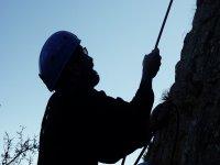 Ben tenuto in arrampicata