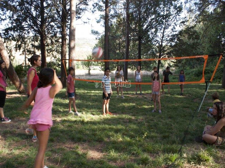 Partida de volleyball