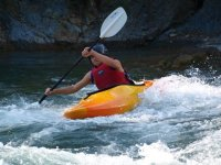 live the emotion of the kayak