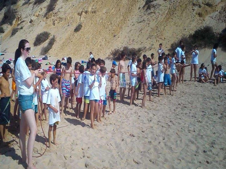 Attività sulla spiaggia