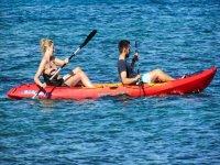 Diversion en los kayaks