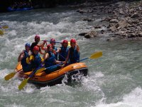 come to enjoy rafting