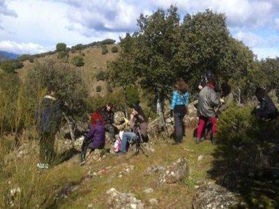 Senda interpretativa sierra oeste de Madrid
