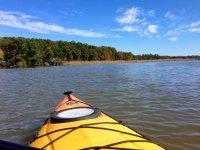 una foto desde el kayak