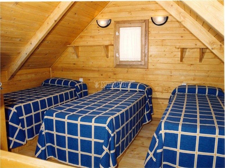 营地的卧室