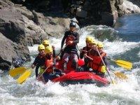 Rafting down river Ulla or Miño, Pontevedra - 3 h