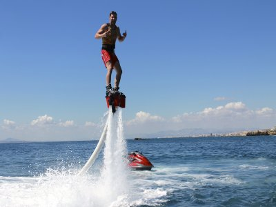 Flyboarding in L'Ametlla de Mar