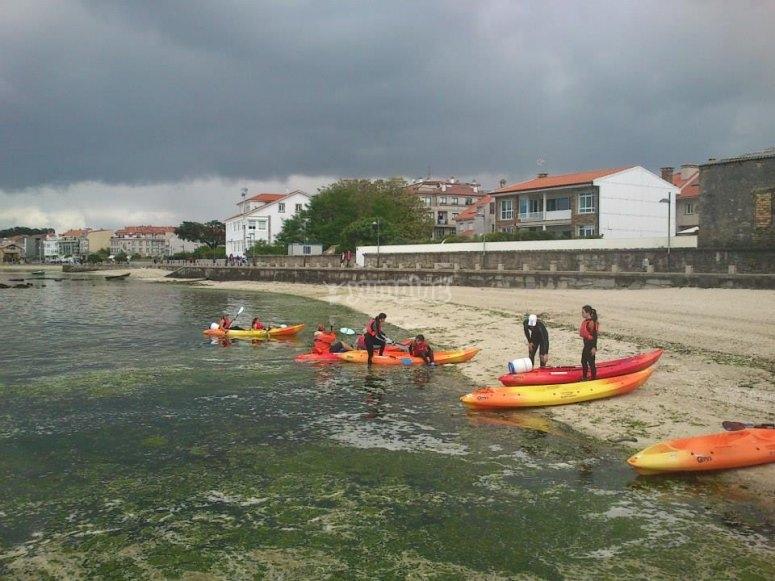 Kayak tour in Pontevedra