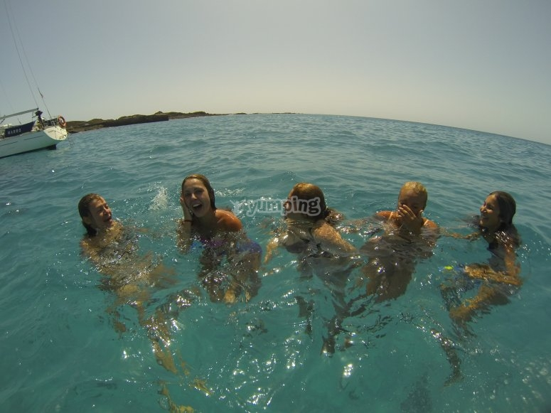 Risate e festa a Fuerteventura