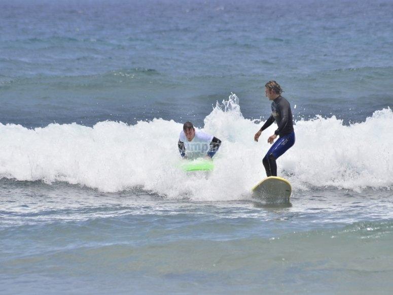 Practica surf