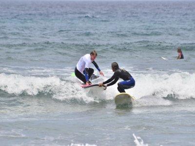 Clase de surf en Arico Tenerife 2 horas 2 personas