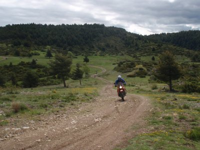 Enduro route over the Pyrenees. 2 days+3 nights