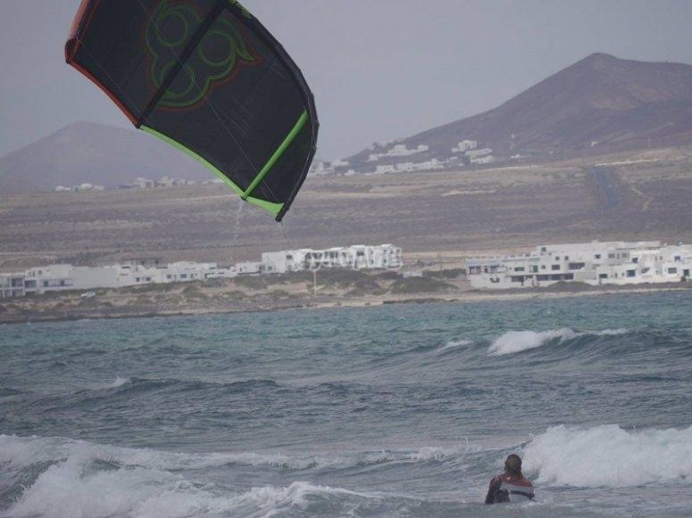 卡莱塔德菲法马拉控制风筝冲浪风筝冲浪