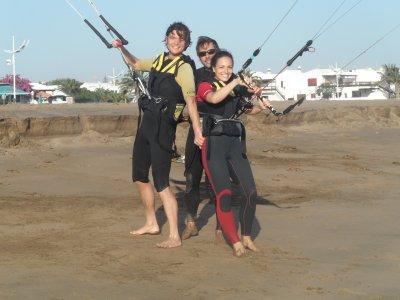 Curso de kitesurf en Lanzarote especial parejas