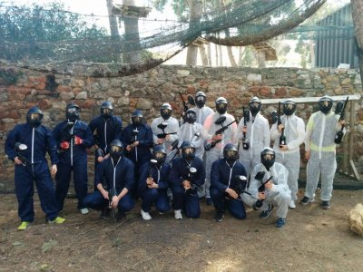 Compleanno con paintball a Salou Older 14 anni