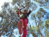 Birthdays with zip lines, Salou, 7-11 years old