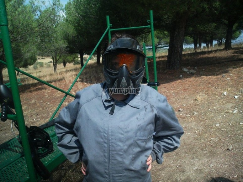 Paintball en Valdemorillo
