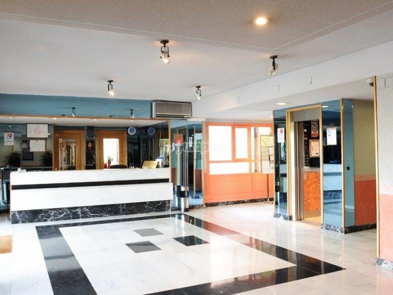 Vestibulo del hotel