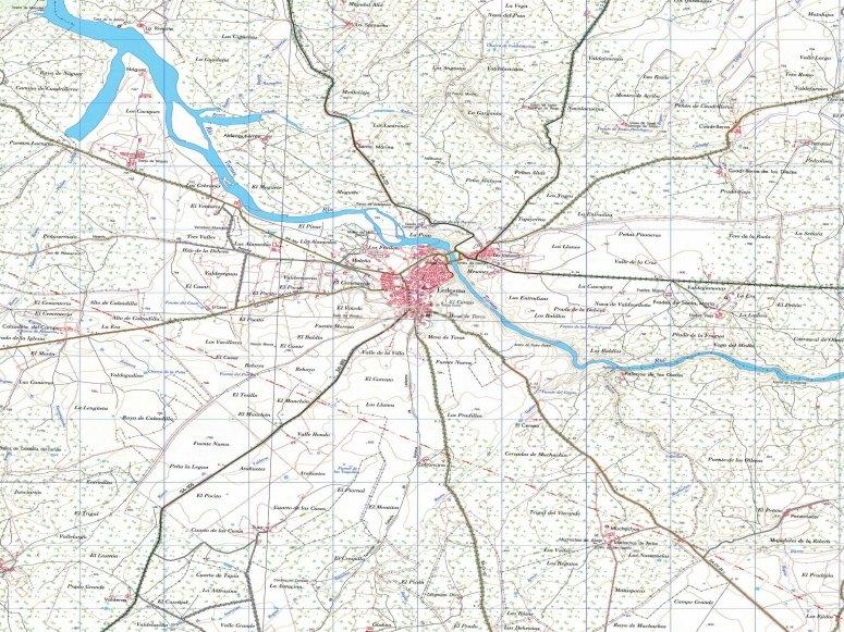 mapa de Ledesma