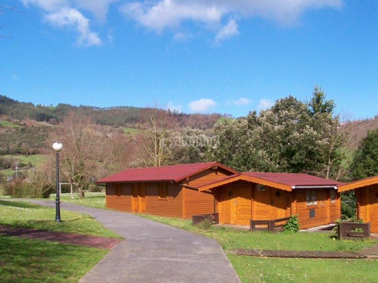 Lodge of the camp