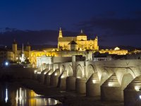 Puente de Córdoba de noche