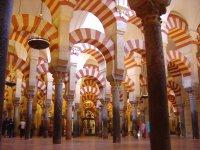 Visitando la mézquita de Córdoba