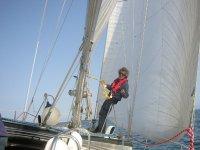Dirigiendo el barco