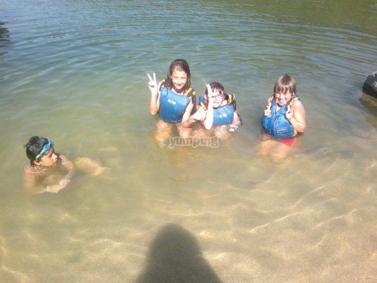 Actividades acuáticas en San Martín de Valdeiglesias