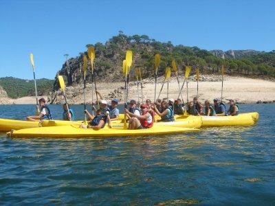 在SanMartíndeValdeiglesias营地7天