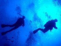 PADI在La Manga del Mar Menor潜水洗礼