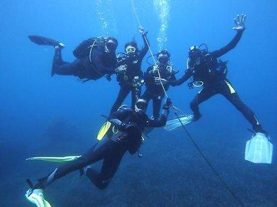 La Manga的开放水域潜水员启动课程