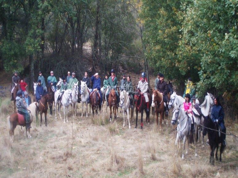 Expediciones a caballo
