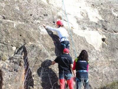 塞戈维亚的运动攀岩课程,启动