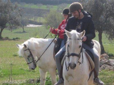 Ruta a caballo al Parque Natural Montseny y comida