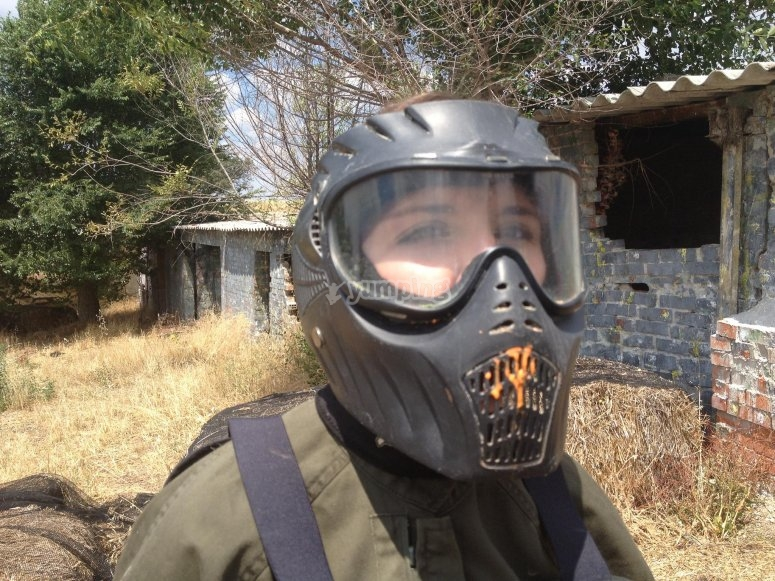 Paintball´s mask