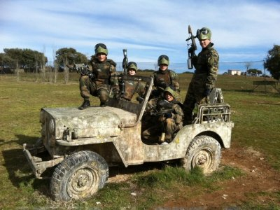 Paintball for Kids + Meal in Colmenar Viejo