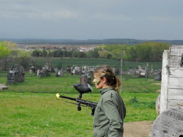 Paintball´s player