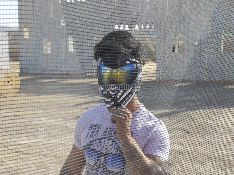 Máscara de paintball